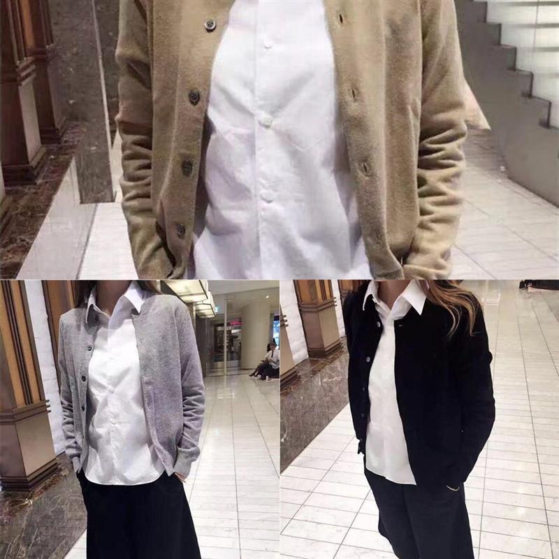 DKDBP Hot Brown Cardigan Damen Sale Paare Mode Frauen Designer Womens Black Womens Pullover Weiß Größe Design Lose gestrickte Strickjacke