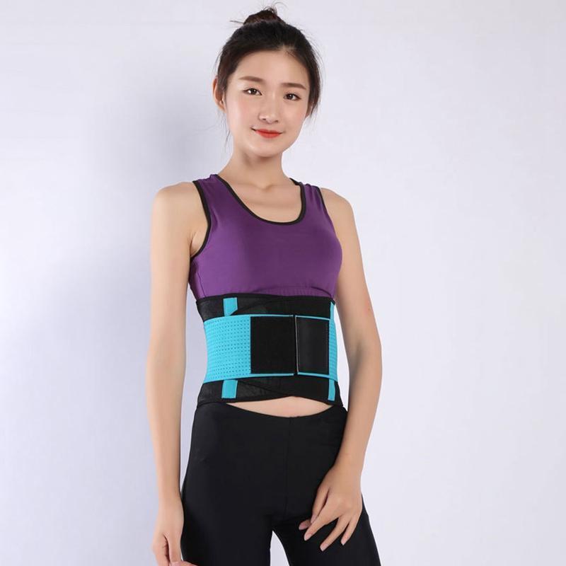 Cintura ajustable de la cintura de la cintura Cinturón de la cintura Cinturón de la utilidad de sudor para el deporte Gimnasio Fitness Levantamiento de pesas Cinturones
