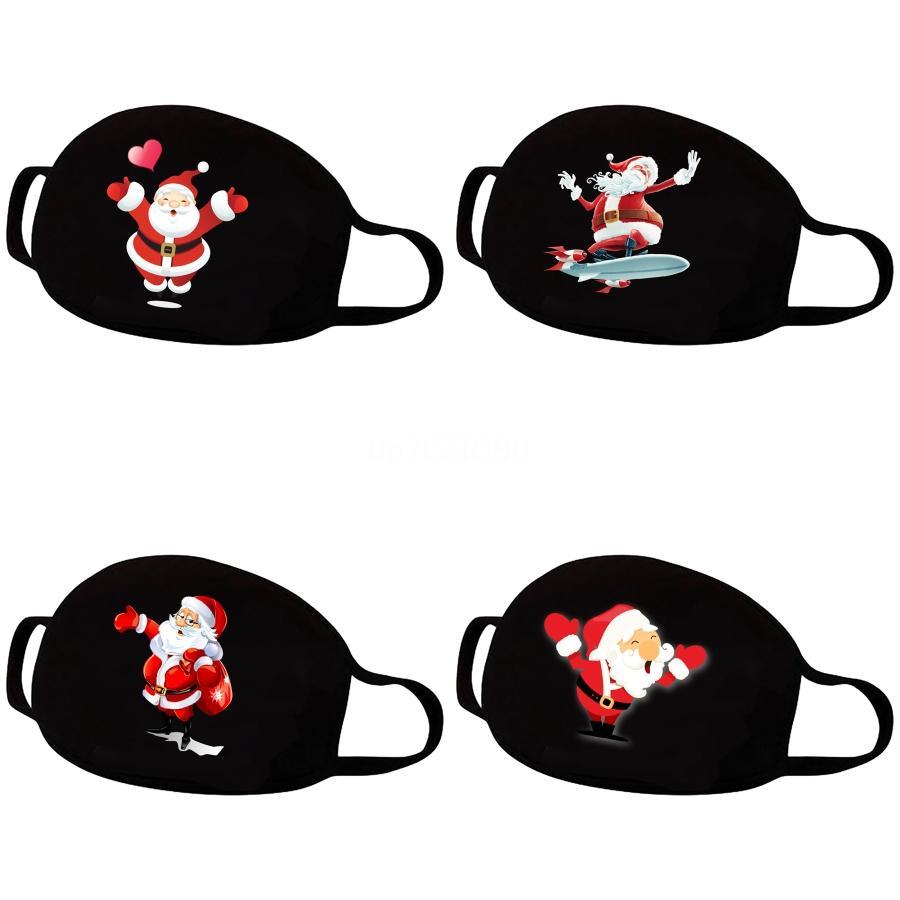 Fasion Fa Sield Karikatür Baskı Maskeler Şeffaf Açık Bisiklet toz geçirmez Prective Maske Fonksiyonlu Tam # 131