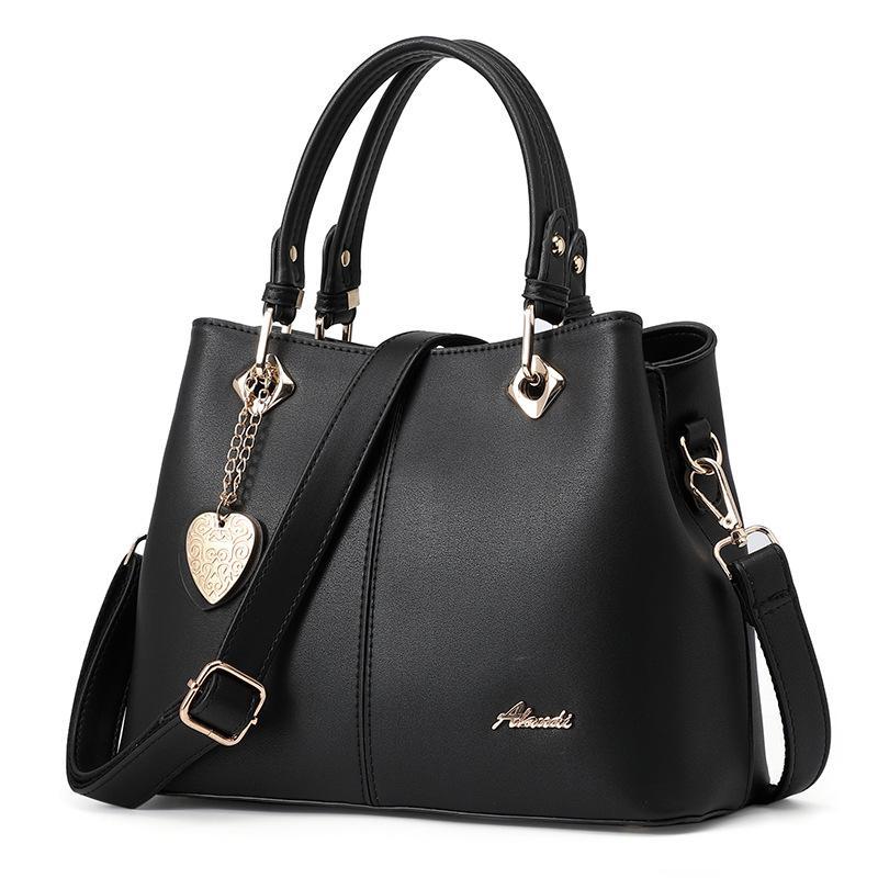 Tasche Handtasche Handtaschen XPBAX Eimer Tasche Einfache Pendler Lady Bags Neue Mode 2021 Schulter Emoct