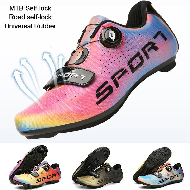 도로 사이클링 신발 남자 Btriathlon Ike Ultralight 신발 자전거 운동화 자체 잠금 전문 통기성 Bicicleta