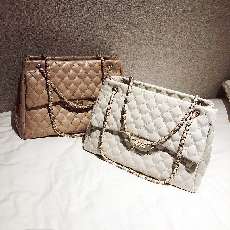 Главные цепи сумки сумки скрещенные сумки для женщин на плечо кожаные слинг дизайнер мешок женские женские руки 2021