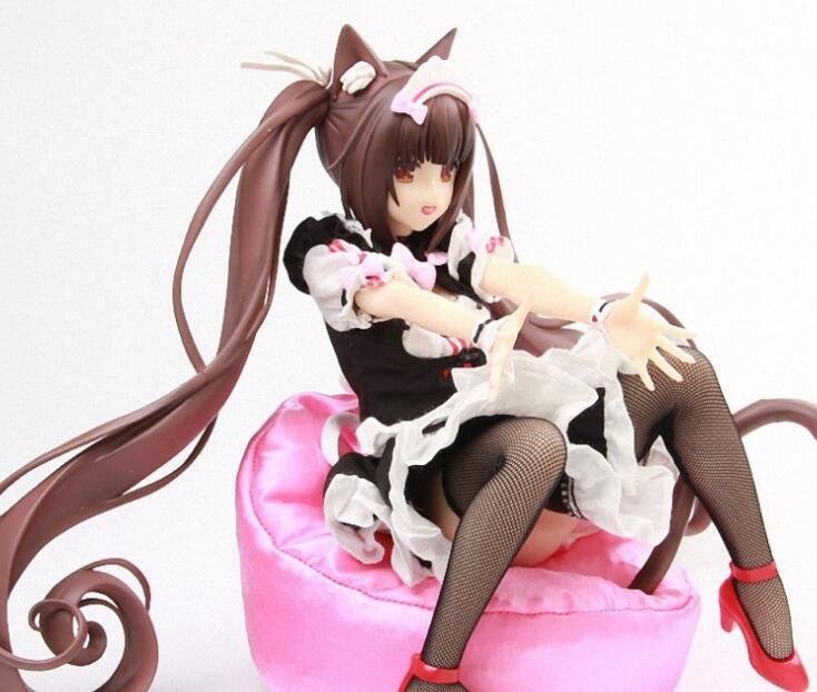 2019 Действие Native Binding NEKOPARA Chocola Vanilla ПВХ Рисунок Anime Sexy Girl 1/4 Scale Real одежда рис Модель Игрушки для взрослых NO BOX