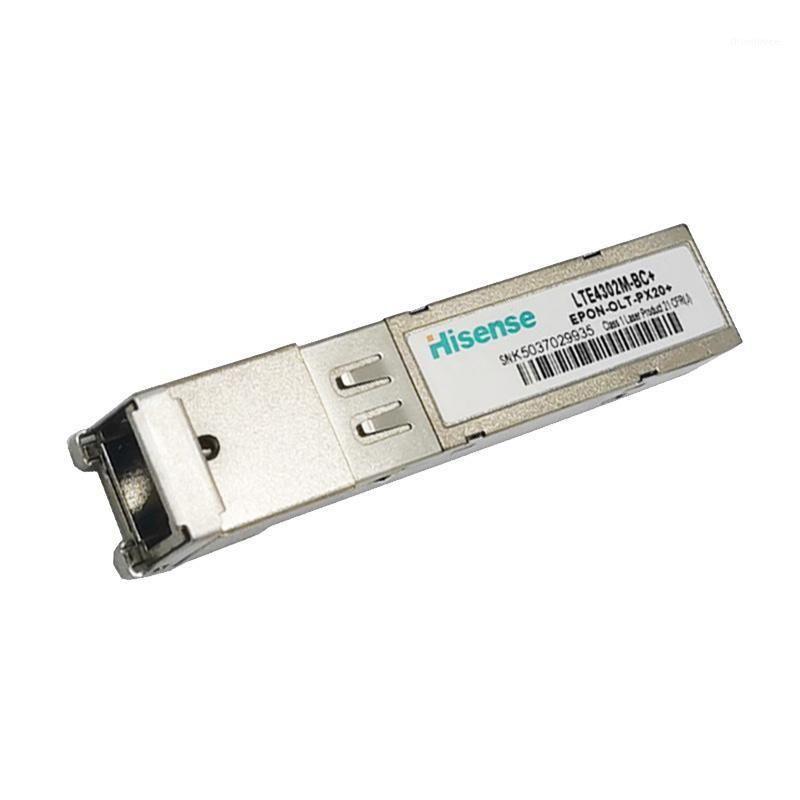 Fibre optique Equipment Epon OLT PX20 + SFP Modules avec Singlemode SingleMode Sing 1490NM RX1310NM SC connecteur SC Hisense1
