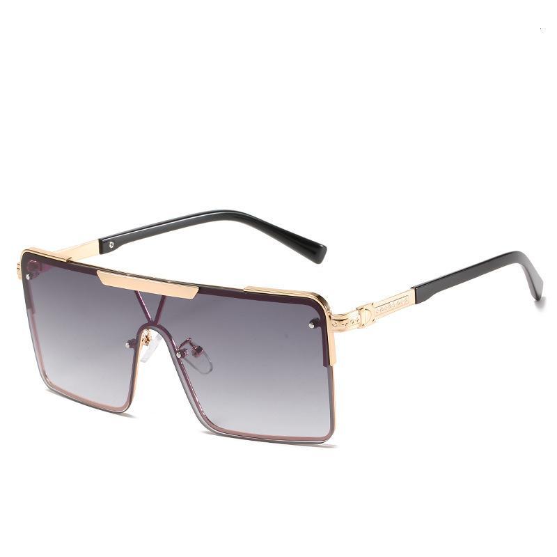 Novo estilo vento um pedaço de sol óculos de moda óculos de sol Óculos de sol e mulheres óculos de sol 4614 Designer AWS