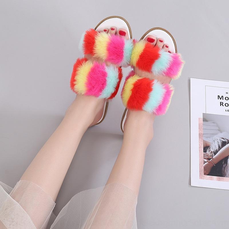 DTGR цветные конфеты теплые спальни модные тапочки женские дома зимние тапочки в помещении тапочки хлопок