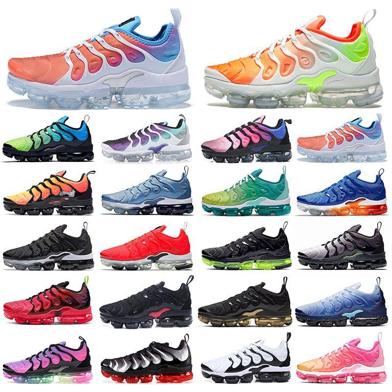 Nike air max tn tns plus vapormax vapor vapors max mens del hotsale max zapatos de aire corriendo vapor de mosca tejen Aurora Verde Violeta Hyper además tn TNS exterior womnes