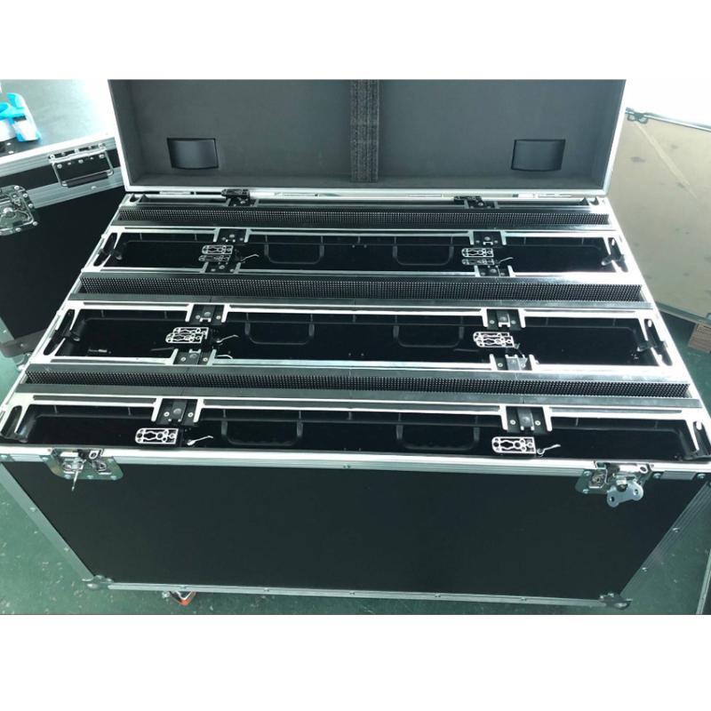 Display Flight Case P3.91 in alluminio pressofuso, cabinet in alluminio da 500mmx1000mm, custodia P4.81, 1 confezione 6