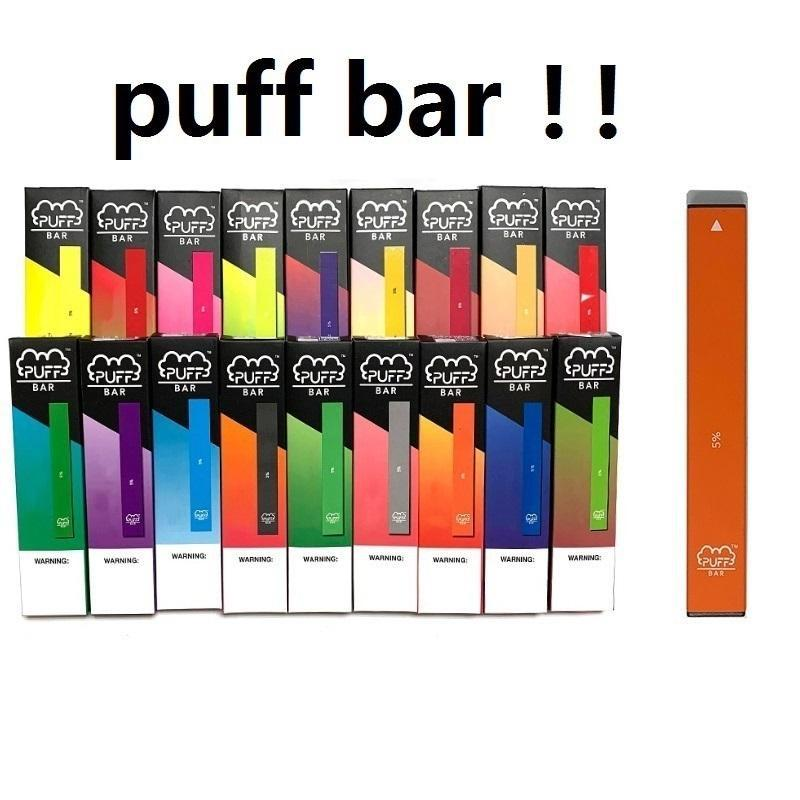 Disposable Pod Device Puff Bar With 20 Colors 280mAh Battery 1.3ml Capacity Puffbar Vape pen Empty Vape Cartridge Packaging