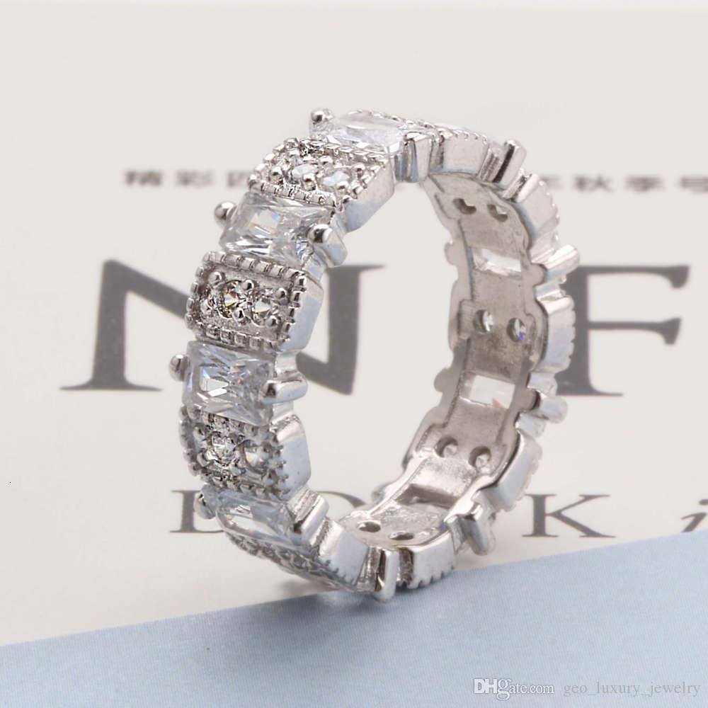 Lujos diseñadores moda jz294 imitación anillo de mujer moda platino anillo anillo anillo gótico