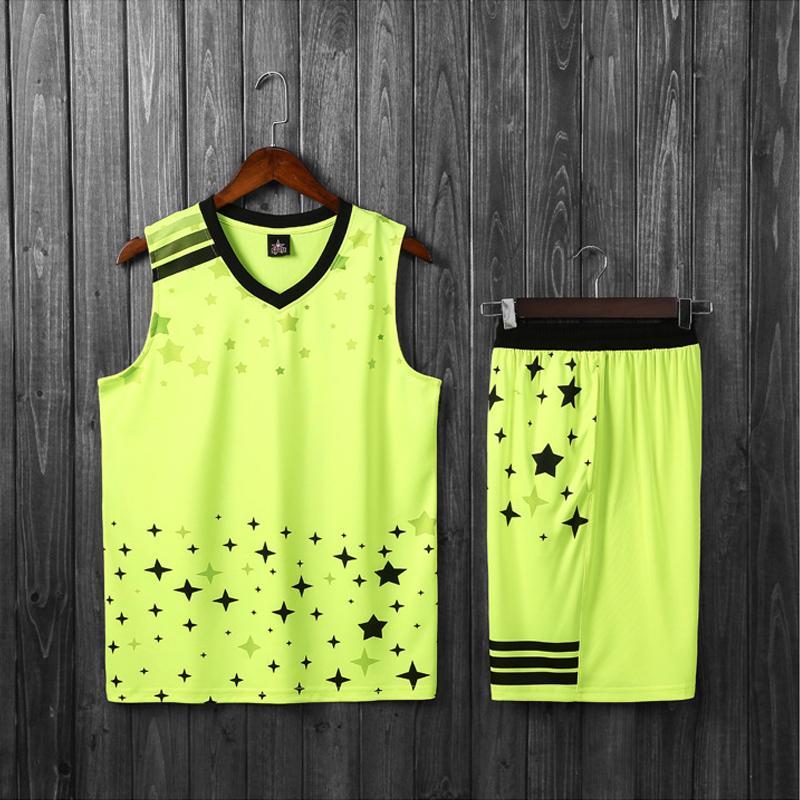 Onedoyee Erkekler Basketbol Jersey Üniformalar Setleri Çocuk Gençlik Spor Giyim Nefes Boys Eğitim Basketbol Jersey Şort ayarlar