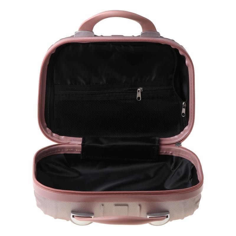 14in caso cosmetico bagaglio piccolo viaggio portatile portatile valigia per il trucco