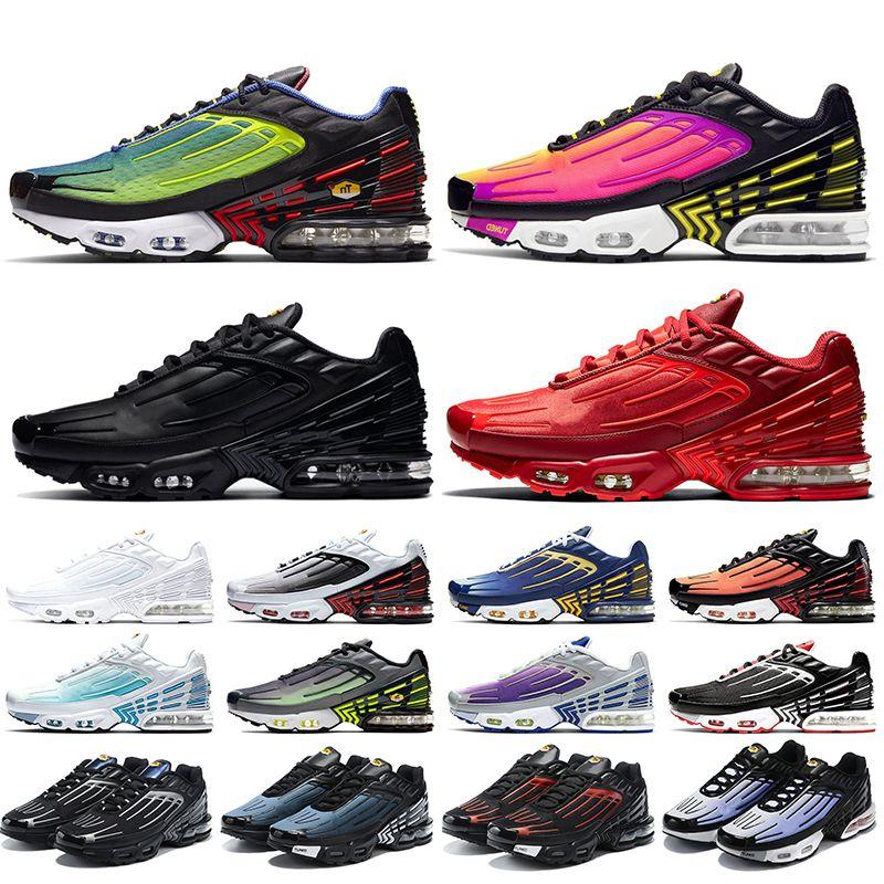 des chaussures plus 3 tn 3 tn plus Tuned vapormax chaussures de course pour hommes taille 13 Hyper Rouge formateurs pour hommes baskets pour femmes