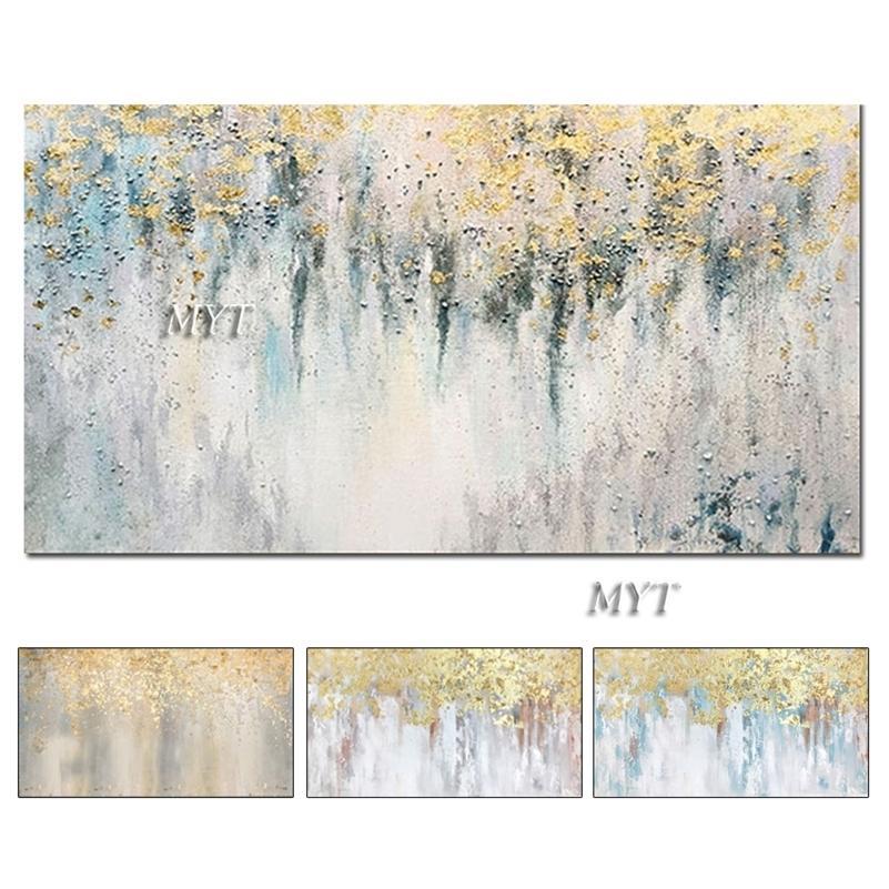 Wandkunst Abstrakt Gemälde Moderne Ölgemälde auf Leinwand Home Decoration Wohnzimmer Bilder Handgemalte NO REAMED HF0010 LJ201130