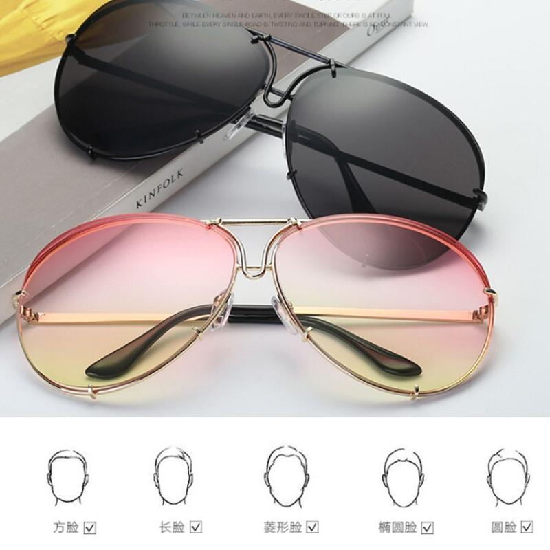 Lunettes de soleil 11 couleurs mode Unisexe lunettes de soleil classique gradient gradient marqueur de marque UV400