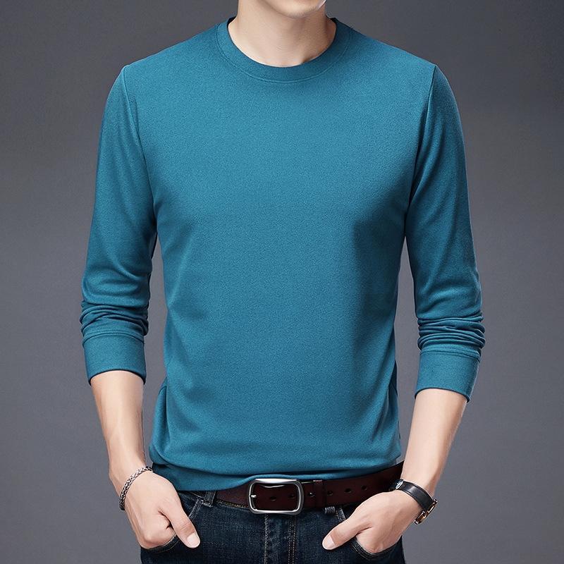 fI4w8 2020 новый мужской свитер свитер многоцветной экипажа и яровой дышащей свободно vFyTO шеи твердый спортивная одежда тенденции простой осенью