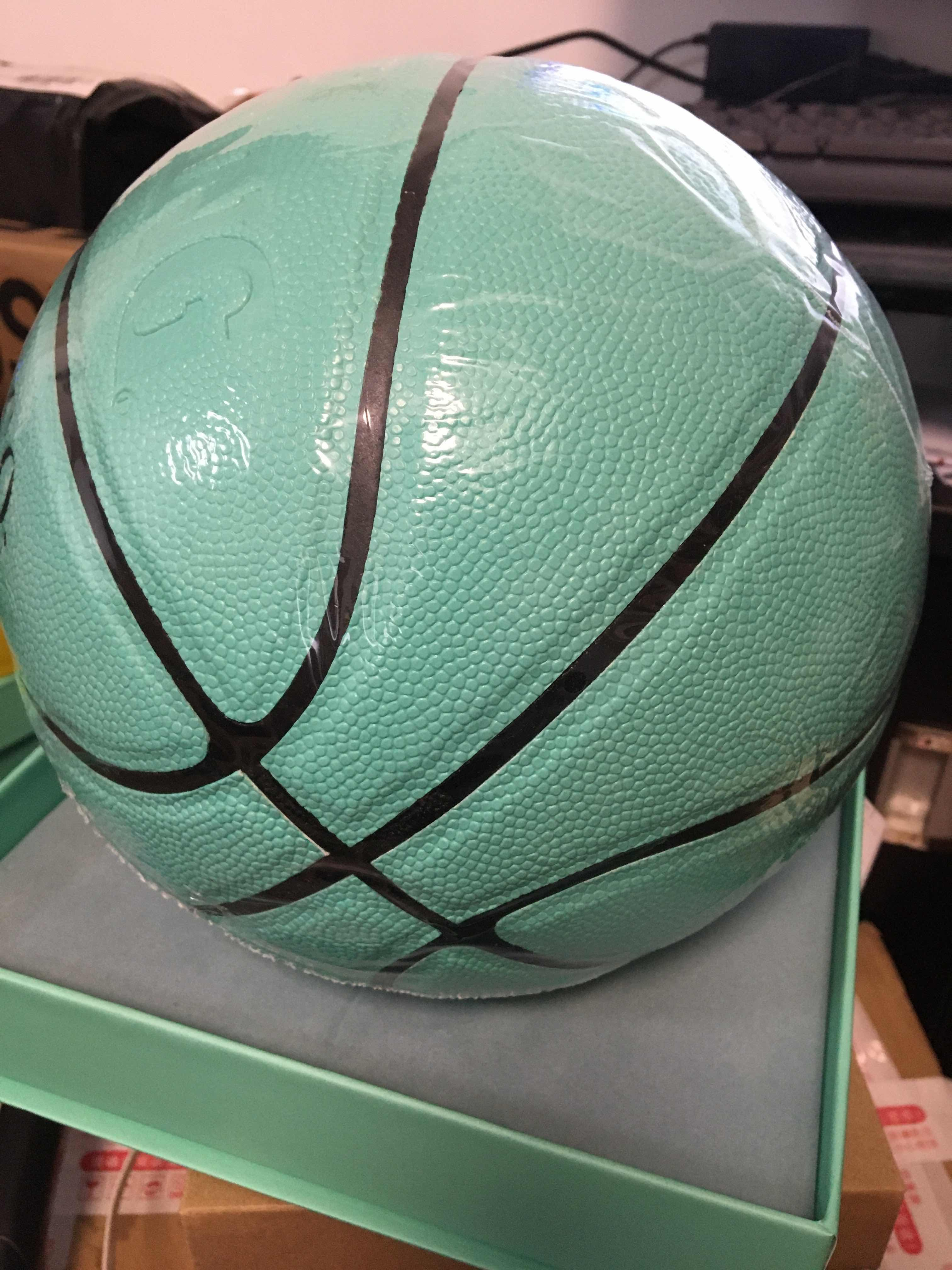 Avec boîte EUR Coupe Tiffany Basketball 2020 Taille 54.5cm Spalding Spalding Joint Basketball Global Limited Édition Limitée Fournisseur Hococal Top Quality Ball