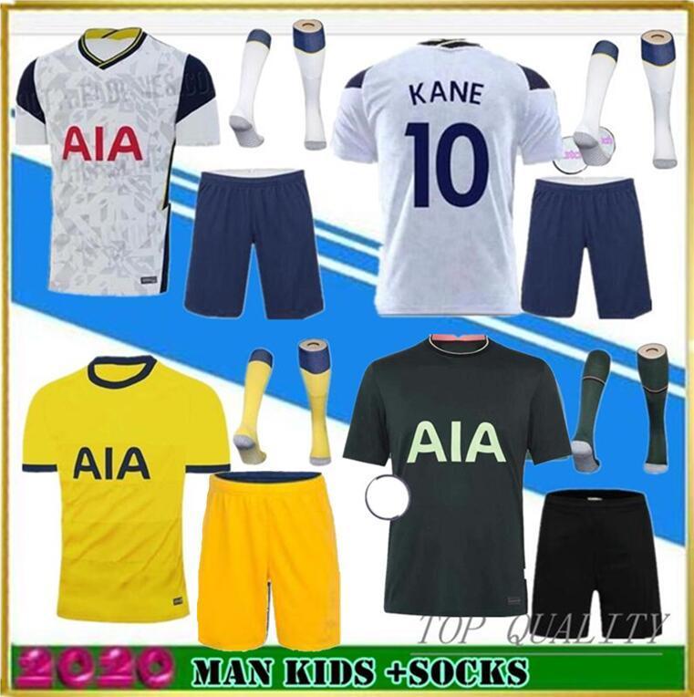 Tottenham hotspur spurs soccer jersey football shirt Thailand KANE Fußball-Trikot 2019 2020 LAMELA ERIKSEN DELE SON DIER spornt Trikots 19 20 Trikots für Fußball-Trikots Dritter