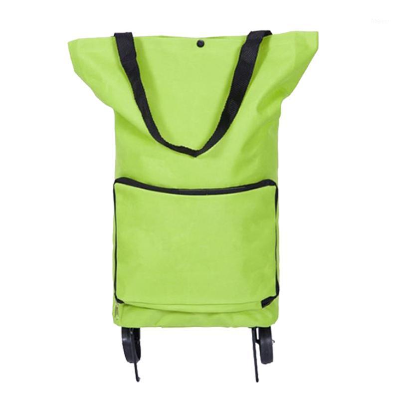 Faltbarer Einkaufswagen Tragbare Folding-Supermarkt-Tasche für Markteinkaufen TB Sale1