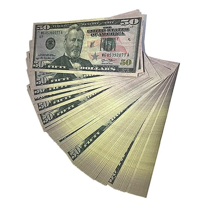 2020Simulation евро 50 долларовая банкнота проп валюты DIY детская проп имитационная игра валюты фунт стерлингов banknote5