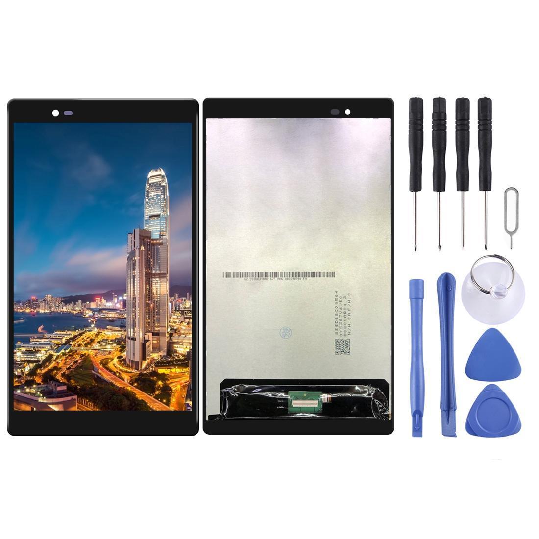 Lenovo tab3 8 Artı TB-8703 TB-8703F TB-8703N TB-8703X için LCD Ekran ve Sayısallaştırıcı Tam Meclisi