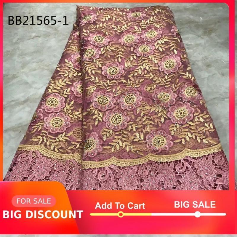 Hot vendita ricami rosa 3d fiore di pizzo bianco ricamato tessuto signore merletto netto cavo di cotone svizzero