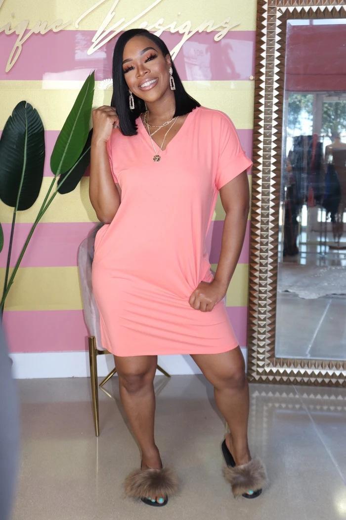 7BKpq рукава женской моды стиль случайные сплошного цвет V-образный вырез с коротким Y109 Платья женской модой стиль случайные сплошного цветом V-образный вырез с коротким рукавом Y1