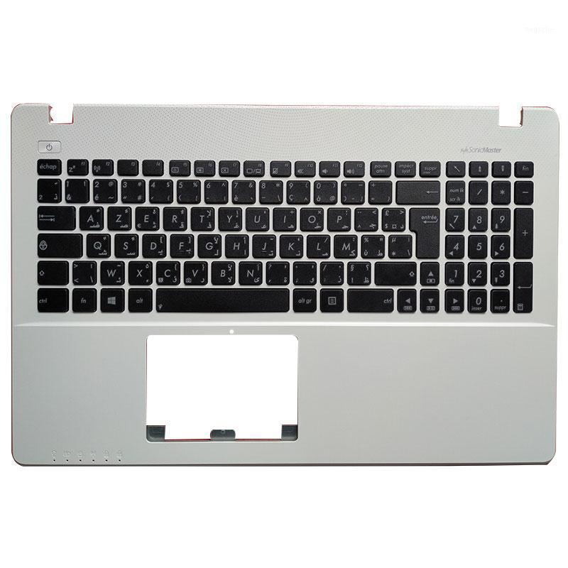 AF / AR / CZ / SV / Teclado de laptop / TR / Reino Unido para Asus X550 K550V X550C X550VC A550L Y581C F550 R510L X550J x550V PalmRest Cobertura superior1