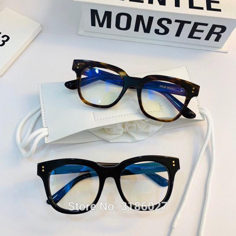 Hohe qualität koreanische design sanfte brillen framme frauen männer acetat quadratische brille frames myopie lesen eyewear1