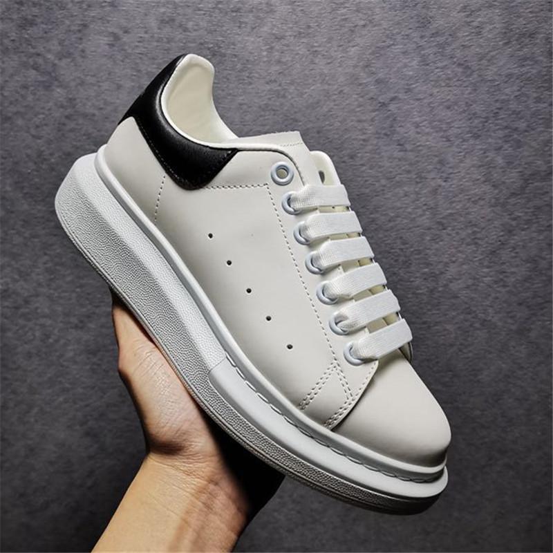 Top Quality Mens Womens Blue Venelet Back Platform Sneakers Oversize Sneakers Bianco Scarpe da ginnastica in vera pelle Comfort comodo stile casual stile