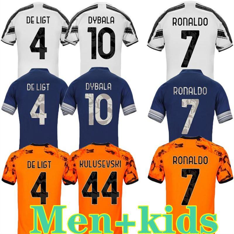 RONALDO Dybala Fußball Jerseys 20 21 McKENNIE Fußball Jerseys 4. x PALACE Fußball Trikot-Set DE LIGT 2020 vierte Herren Kinder Kit Uniformen