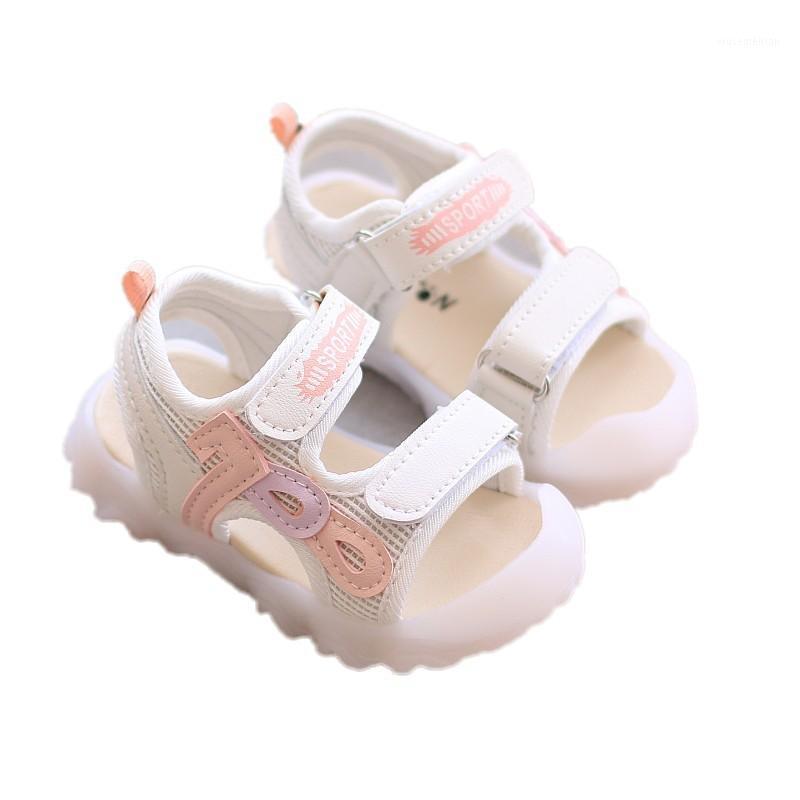 Zapatos para niños Sandalias de niñas Sandalias de cuero para niños pequeños zapatos para niños pequeños Boys BAOTOU NIÑOS DE BAJO1
