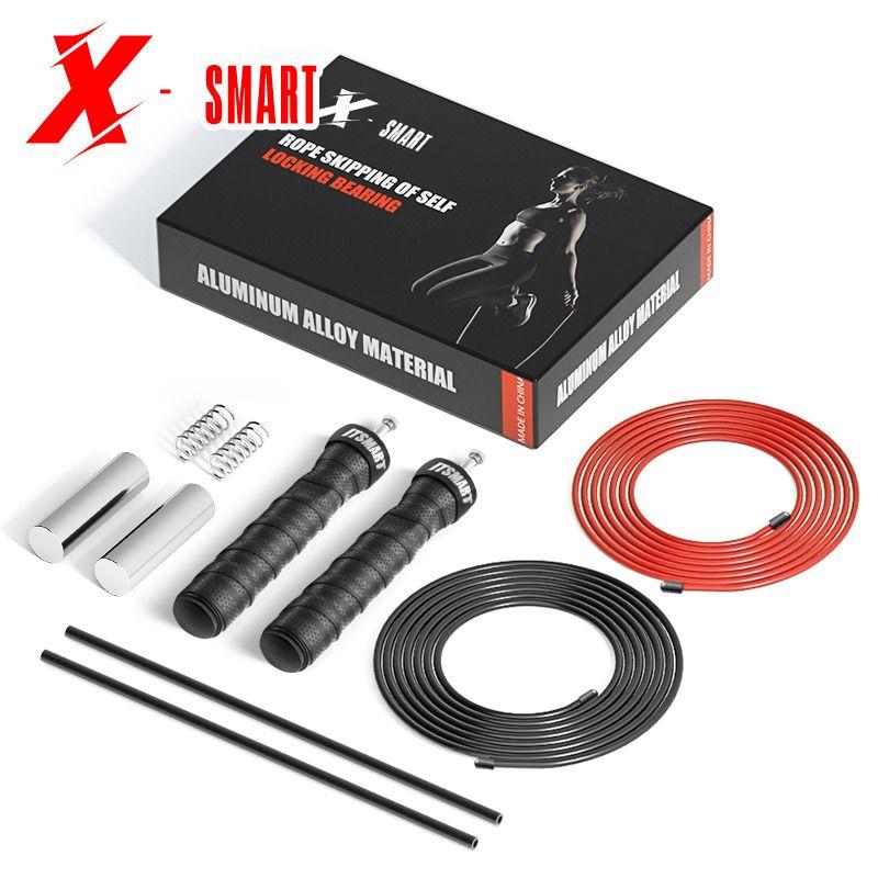 Crossfit Jump Corda Sport Esercizio Attrezzatura per il fitness Attrezzatura professionale per bambini Speed Wire Workout Heaving Pedinged Skipping Corda per boxe Q1225
