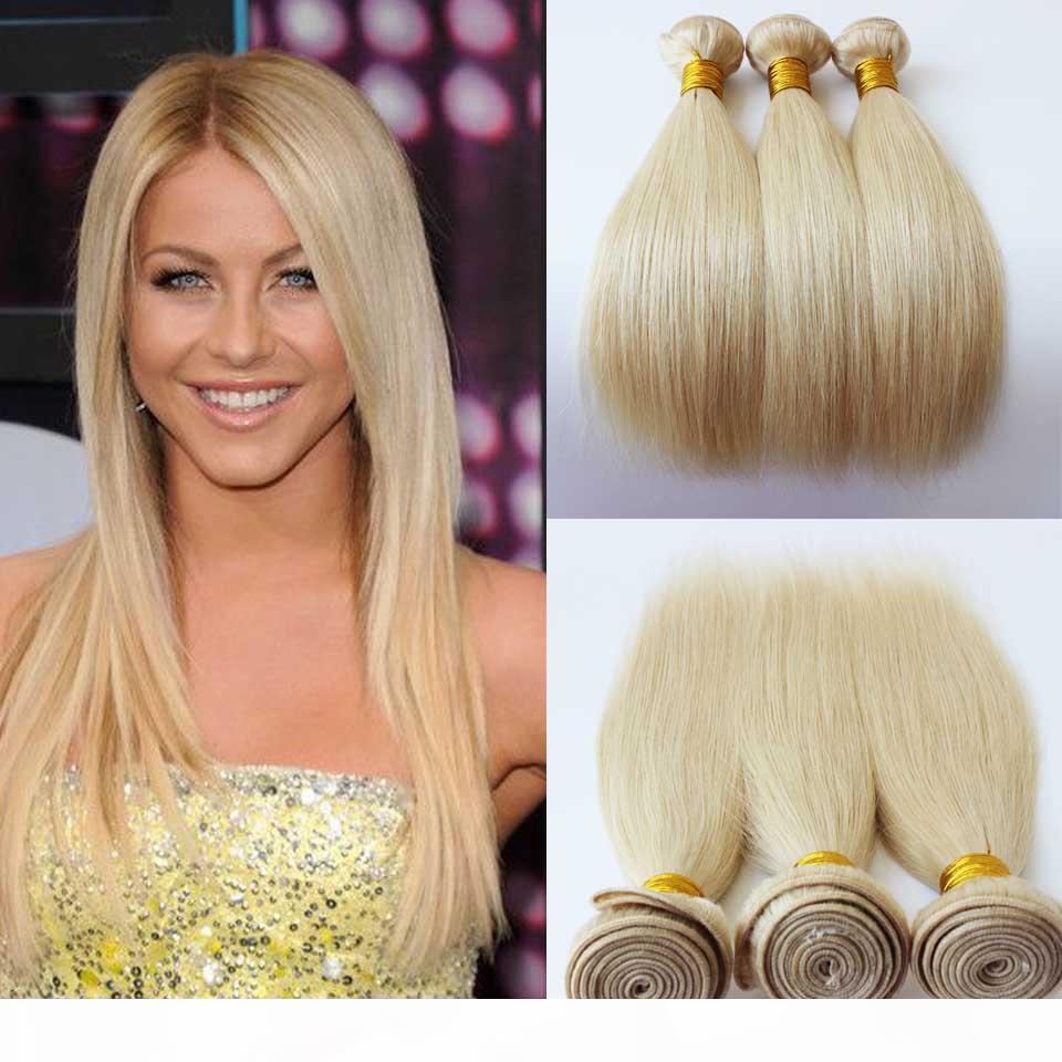 Brésilien péruvien malaisien des cheveux humains indiens 18 22 24 pouces # 613 cheveux raides de cheveux humains de cheveux de cheveux humains non transformés trame