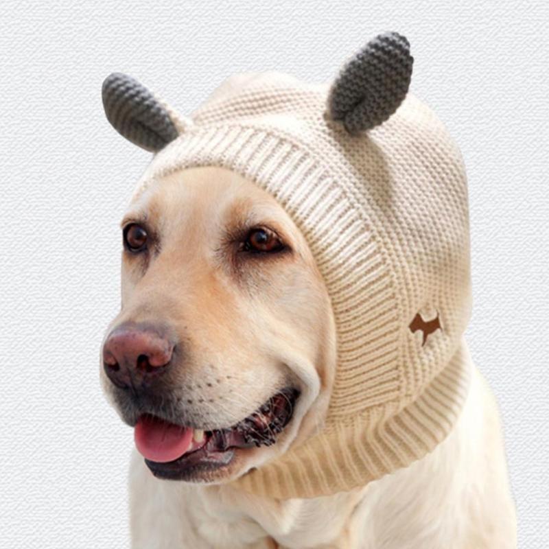 Cap Cap вязаная шапка зимний теплый щенок шапка мода ушной дизайн шансы для собак собака 2021