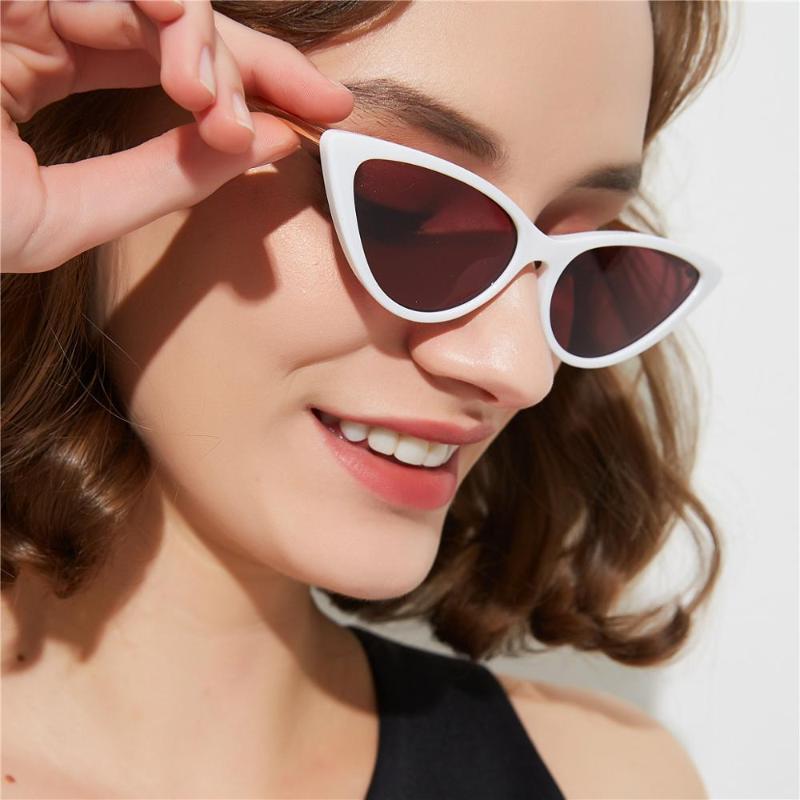 FML Kedi Shades Çerçeve Güneş Gözlüğü Siyah Erkekler Güneş Seksi 2020 Gözlük Kadınlar Klasik Gözlük Küçük F Yuvarlak Retro Küçük Lhcku