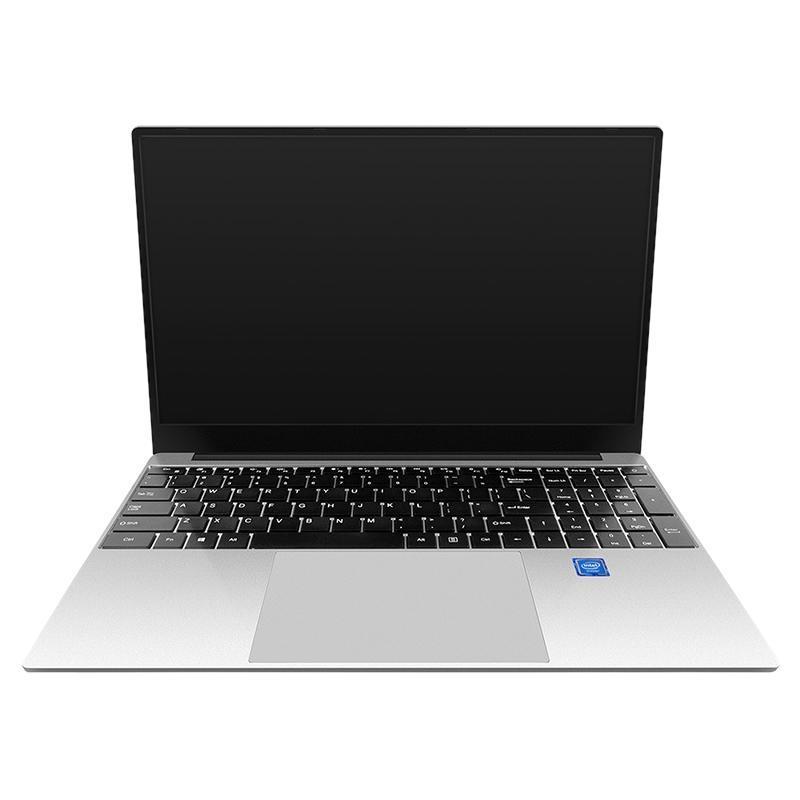 Dizüstü Bilgisayarlar 15.6-inç Laptop N4100 İşlemci 8G + 128G Koşu Bellek Desteği 2.4 / 5GWiFi Dört Çekirdekli Oyun Dizüstü (AB Tak)