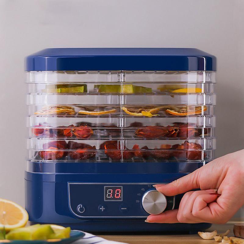 Desidratador secador para Casa 5 Vegetais Bandejas MINI fruta Pet carne seca Fruit Machine