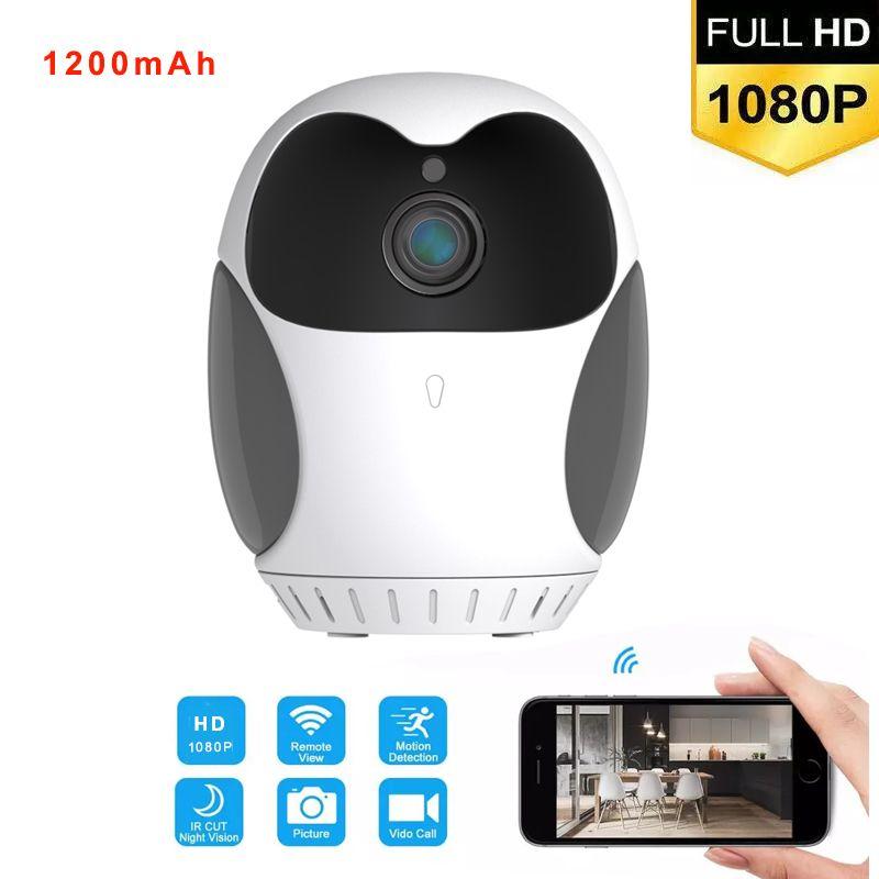 EG1 360 Grad rotieren 1080p Wifi Mini-Kamera AI Motion Detektion Micro Camcorder Focal CCTV SECURITA Remote Alarm Camcorder MAX Unterstützung 128g