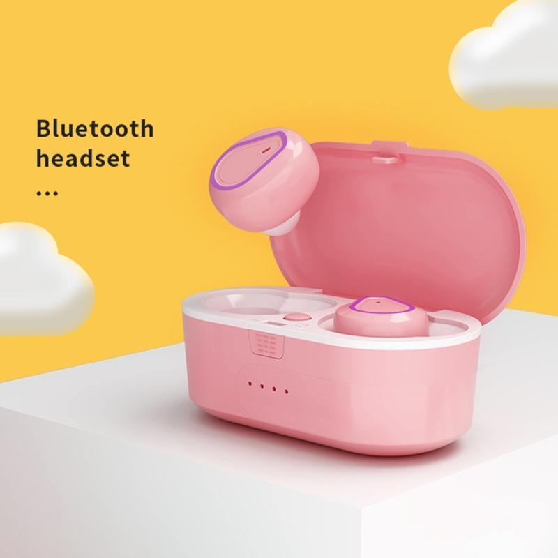 Стерео гарнитура Правда TWS Беспроводная Bluetooth 5.0 наушники Наушники мини-вкладыши Наушники