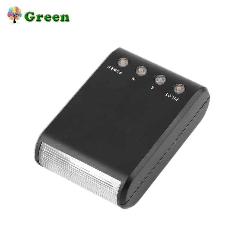 Универсальный цифровой ведомой вспышки Light Auto Single Contact Standard Для Hotshoe DSLR камеры NEW