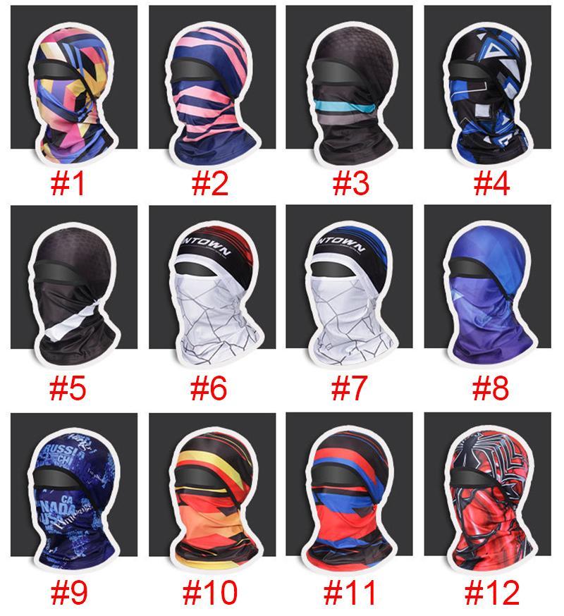 Radfahren Sport Reiten Hood Gesichtsmaske Magie Schal Headscarf Fahrrad Schal Outdoor Angeln Hals Schal Sommer Sonnencreme
