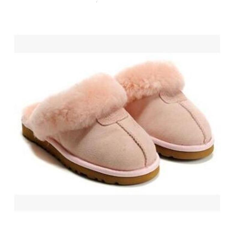 ÜCRETSİZ KARGO 2020 Yüksek kaliteli WGG Sıcak pamuk terlik Erkekler Ve Kadınlar terlik Kadın Boots Kar Boots Tasarımcı Kapalı Pamuk terlik