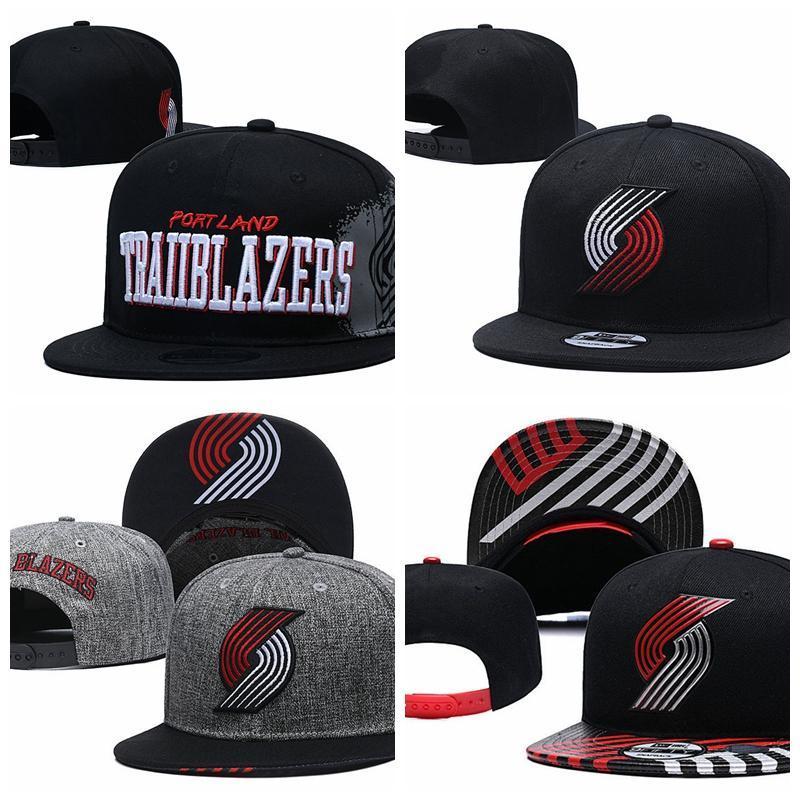 PortlandSenderoBlazersHombres Sport Caps HOMBRES MUJERES JÓVENES POR 2020 Tip-Off de la serie 9FIFTY ajustable del Snapback del sombrero del baloncesto