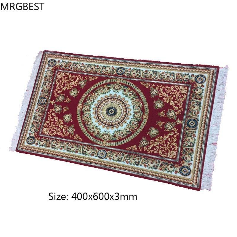MRGBEST Mouse pad Large 400x600x3mm Persian Woven Rug Mat Retro Style Carpet Pattern Mause Pad for Decorate Home Office Table LJ201031