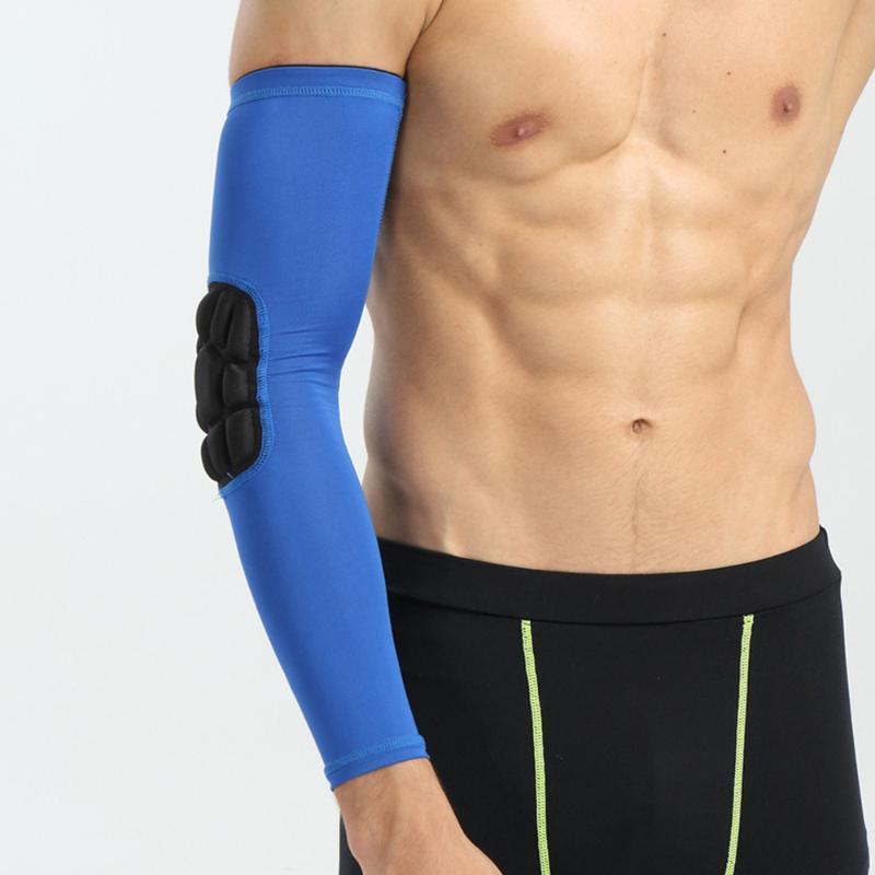 1 шт. Спорт Рукава Рукава защитный локоть рукав длинный локоть протектор для езды велосипедные рукава для наружного игрового баскетбола (XL, Rando