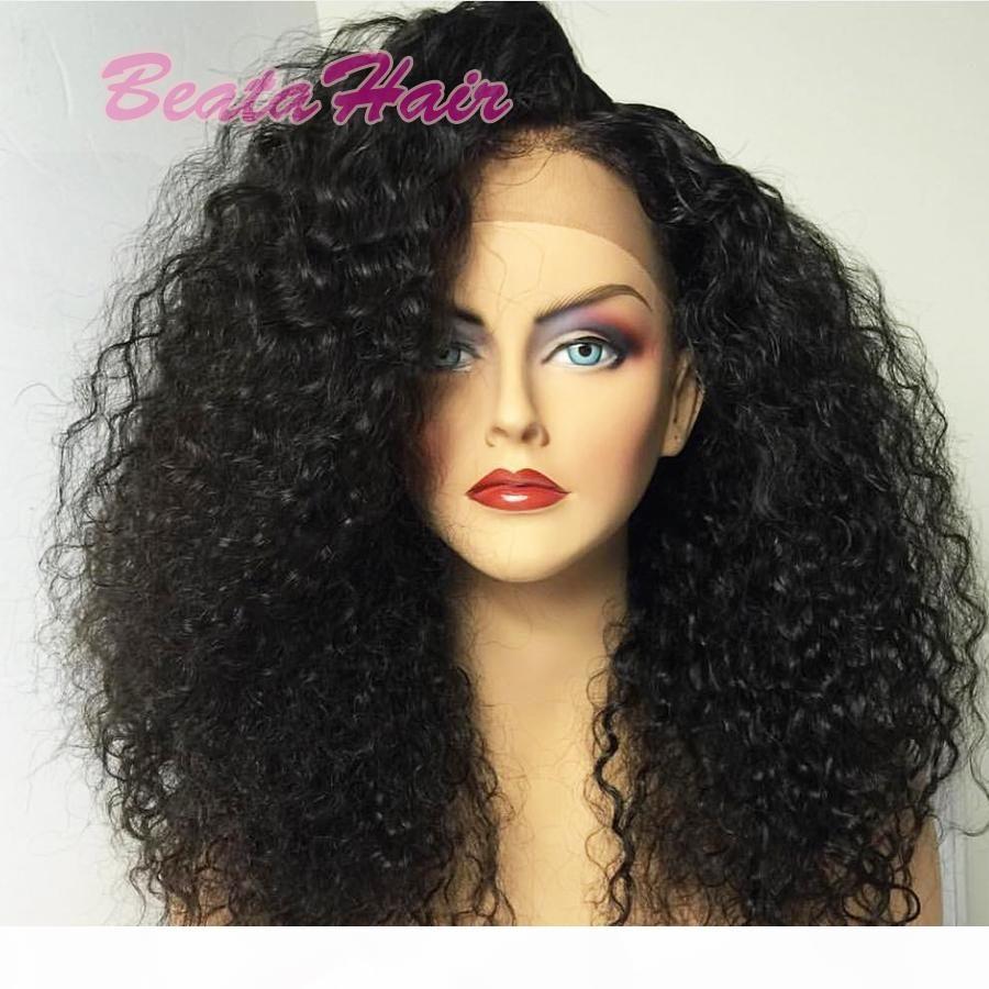 2017 nuevo estilo ola rizado encaje completo pelucas humanas pelo cabello caliente encaje frente cabello humano pelucas con pelos de bebé
