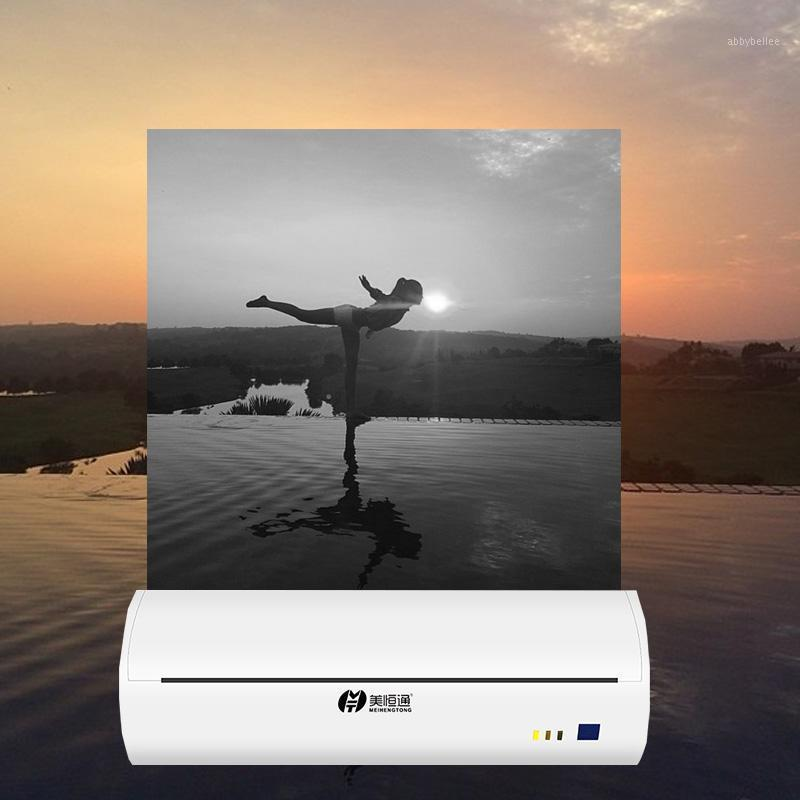 Impresora portátil Mini impresora portátil para A4 Papel Máquina de impresión de fotos Bluetooth Teléfono móvil A4 Recibo térmico1