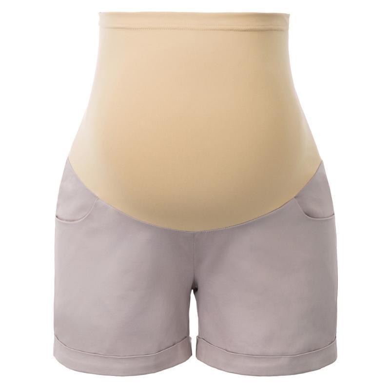 Pantalones cortos para mujer Vacaciones sueltas de verano Ropa suave Casual Madre Mujeres