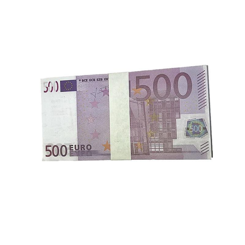 Banconote all'ingrosso della fabbrica Euro Movie Shooting Puntelli Magic Tungs Bambini Giocattoli Giocattoli Regali 1: 1 Design Copia Euro M2